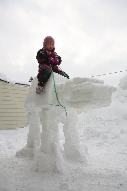 So, the snow cometh. . So the snow cometh