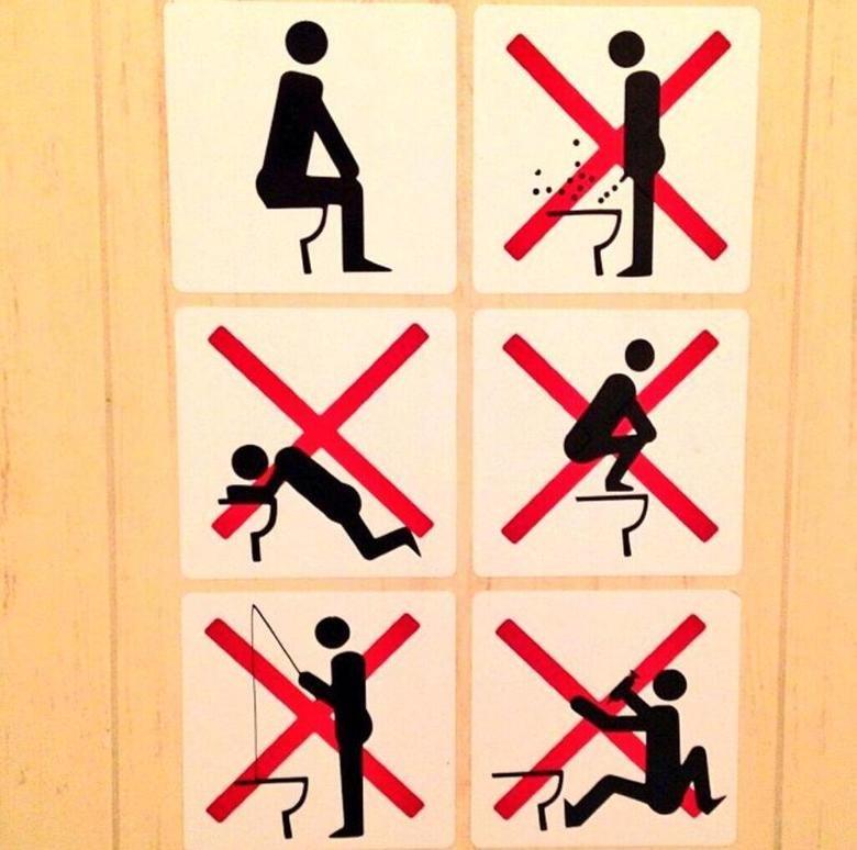 Sochi Olympics Bathroom Rules. Not mine, made me lolz. Source: sports.yahoo.com/photos/quirks-of-soc.... winter olympics Sochi russia