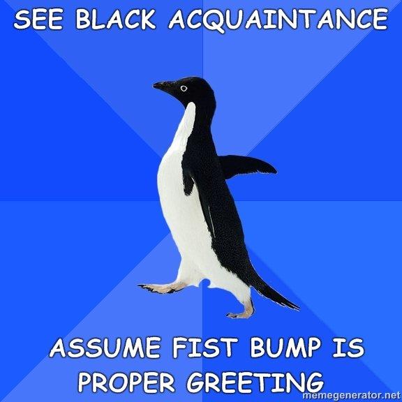 Socially awkward penguin. memegenerator.net. Socially awkward penguin memegenerator net