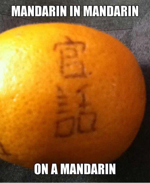 我听说你喜欢普通话?. Source: Imgur.. We need to go deeper, I present to you mandarin in mandarin on a mandarin being eaten by the mandarin. 我听说你喜欢普通话? Source: Imgur We need to go deeper I present you mandarin in on a being eaten by the