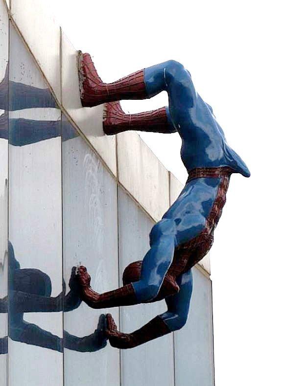 Spider Man is well hung. . Spider Man is well hung