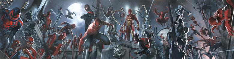 Spider-man mash up. Click image to see bigger resolution.. Miles. Spiderman spider red blue Girl Dog Web City venom carnage