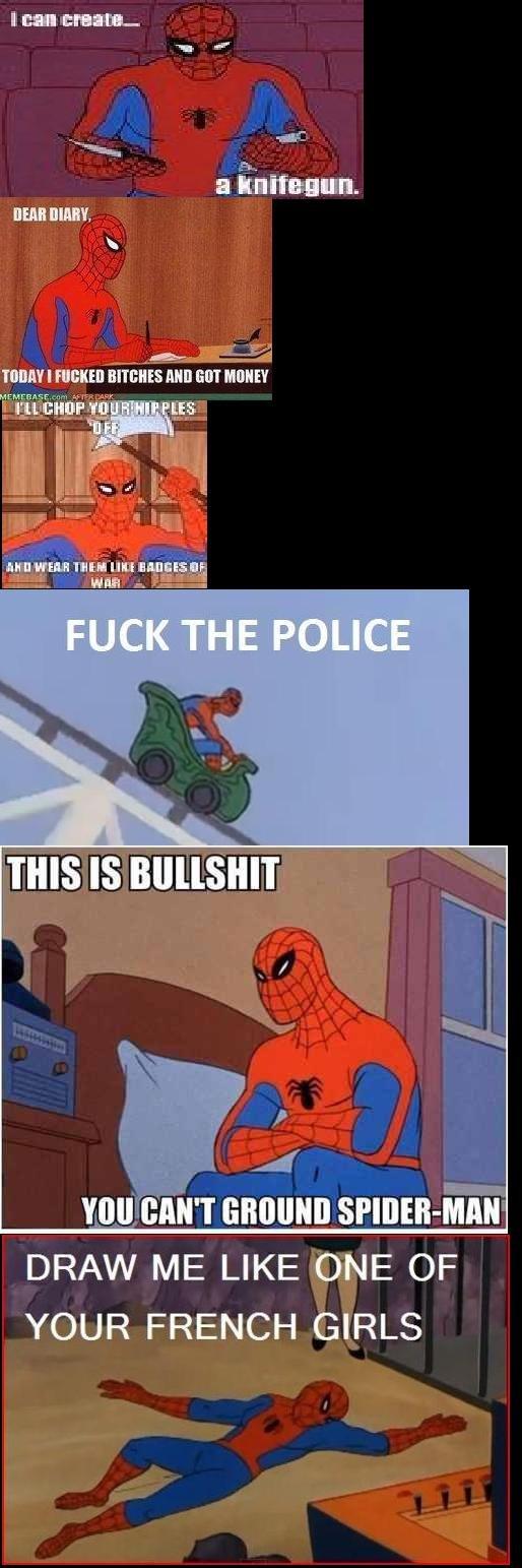 Spiderman Comp. I love Spiderman. funny Spiderman comics