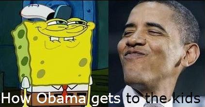 Spongebob to Obama. . Spongebob to Obama