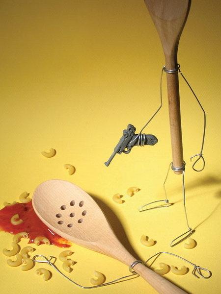 Spoon on Spoon Violence. . Spoon on Violence