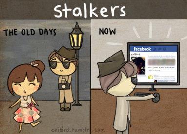 Stalkers then and now. . Stalkers then and now
