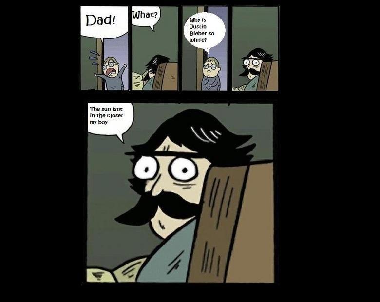 Stare dad and bieber. . Stare dad and bieber