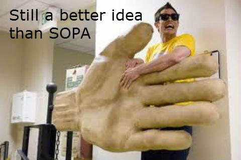 Still a better idea than SOPA. .. Still a better idea than SOPA sopa