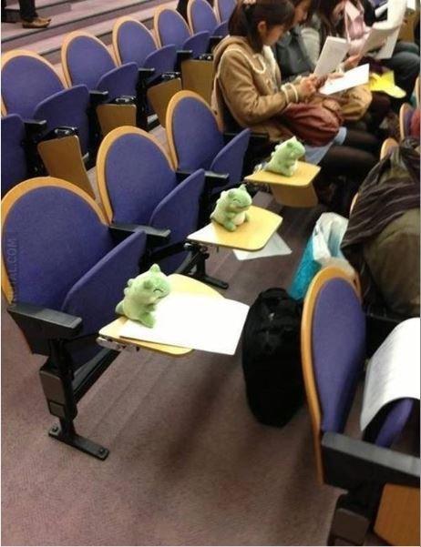 Student used sustitute!. I am not good at descriptions.. Pokemon sustitute College Exam