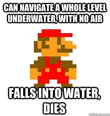 Stupid Mario Logic. . WITH HI] fill! HMS INTI] WATER. Maybe he should install iOS7 Stupid Mario Logic WITH HI] fill! HMS INTI] WATER Maybe he should install iOS7
