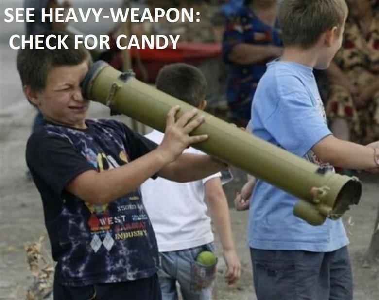 Stupid Kid. . Stupid Kid heavy weapon candy lol