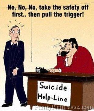 Suicide Helpline Funny Picture. Suicide Helpline Funny Picture.. i think the title ruins it Funny Funya Funya Picture