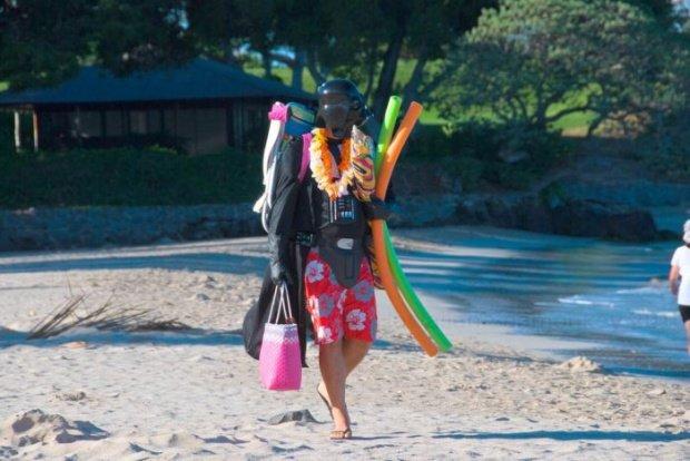 Summer is here !. . Darth Vader star wars summer holidays vacation