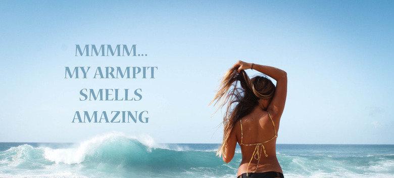 Summer smell. This pic is so inspirational . original: mermaids-love-summer.tumblr.com/image.... MY ARMPIT SMELLS war 1: tif it E armpit motivation summer
