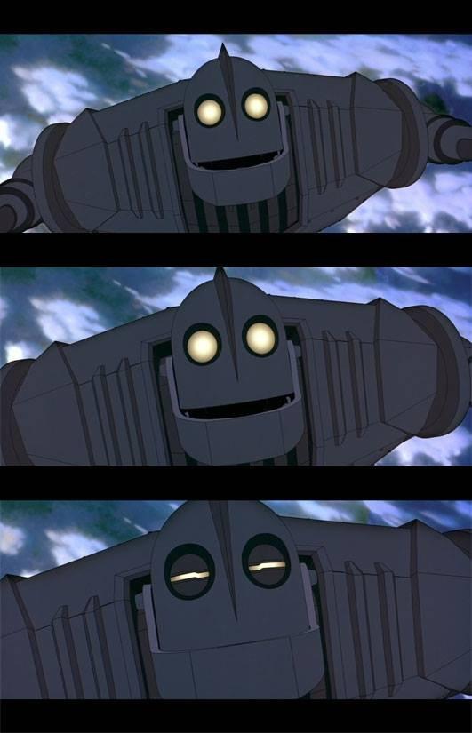 superman. .. meh Iron Giant Superman