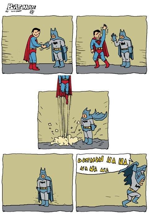 Superman and Batman. Idk. andbingowashisna