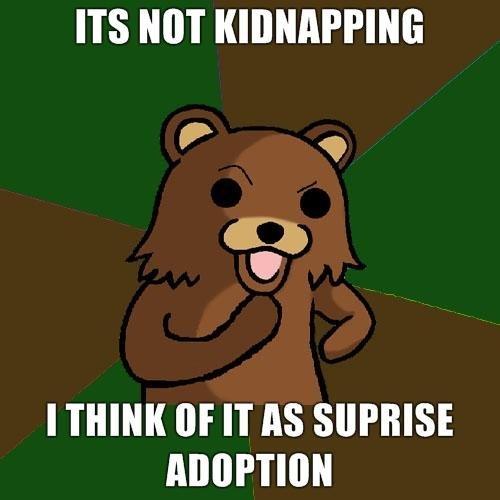 Suprise. .. ITS MT I THINK tilf IT AS pedobear