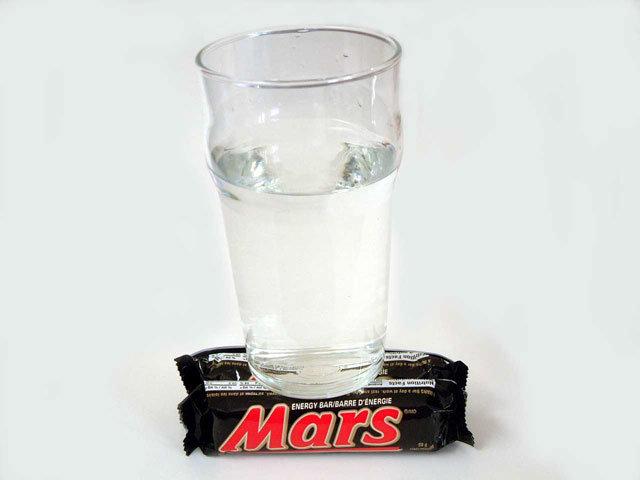 Water on Mars. New Scientific Discovery!<br />. lol i like water on Mars Zizzerman