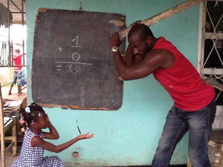We take education serious. .. 1+0=10?? tyrone africa School Teacher Legal