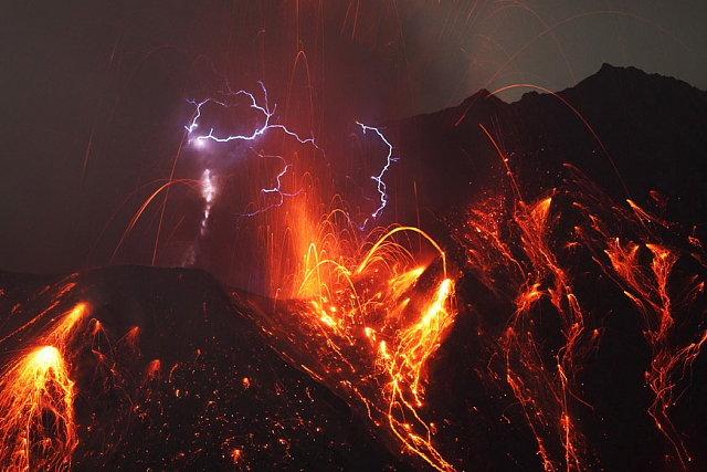 Well . Lightning Volcano.. azula and zuko must be fighting again Well Lightning Volcano azula and zuko must be fighting again
