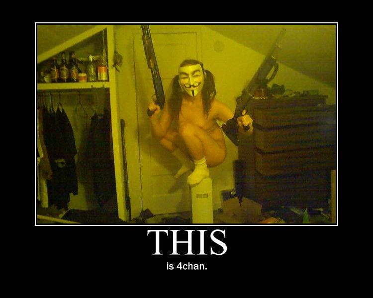 What's 4chan?. la description. I PEE ACID