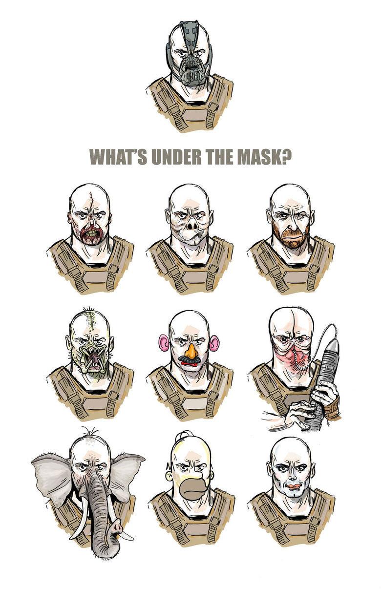 What's under the mask?. .. England's most violent criminal. What's under the mask? England's most violent criminal