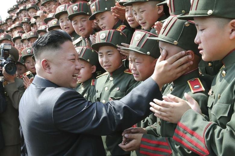 When admin changes something on FJ. . admin North Korea Crying sad children