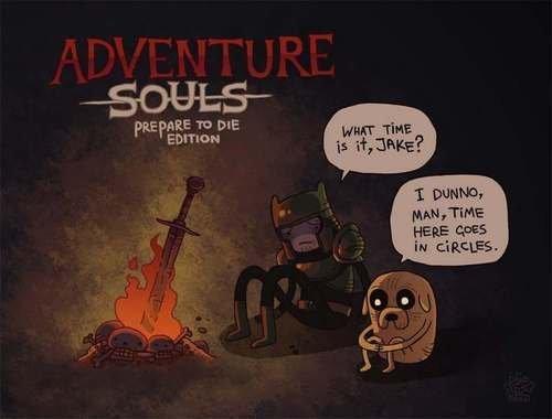 when finn and jake meets dark souls. . E Arte 11: tr PR IE I % liie HERE CREE jake finn Adventure Time dark souls