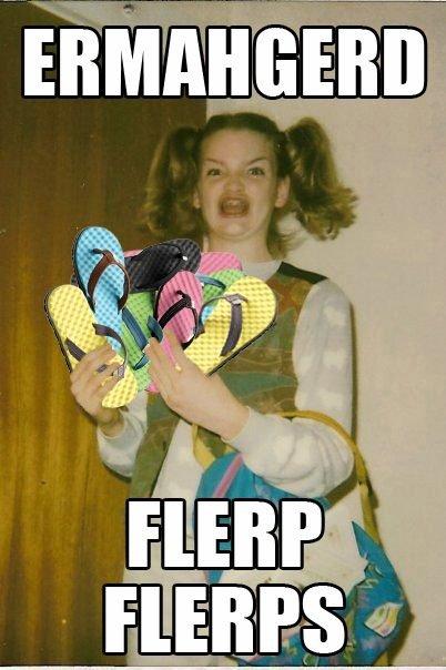 When my GF sees shoes at the store.. Pantech sucks. flerps