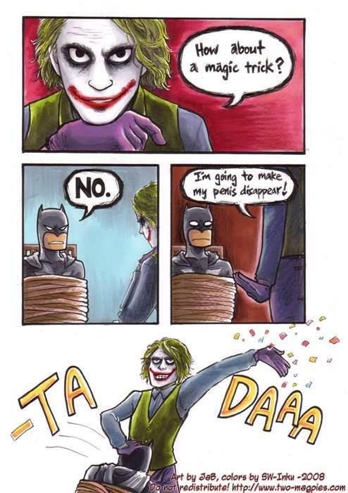 where did it go?. poop noodles, look it up.. Batman wins again Noodles of poop