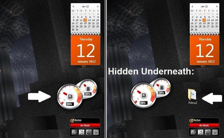 Where do you hide your pr0n?. show me FJ!!. an ital January 2012 January EDIE Hidden Underneath: llooll At Risk Atrist. C:/users/me/desktop/music/nickelback Hide Porn