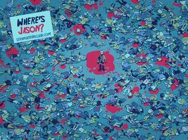 Where's Jason. .. JASON! Where's Jason JASON!