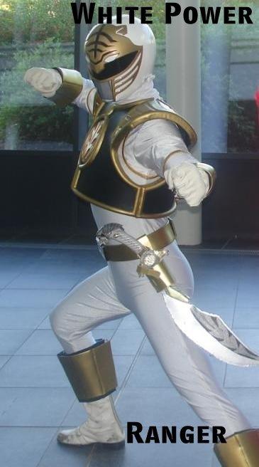 White Power Ranger. All hail the WHITE POWER ranger.. lill - 5 Laq ilyt iial ltot. melon muncher pinkie White Power Rang