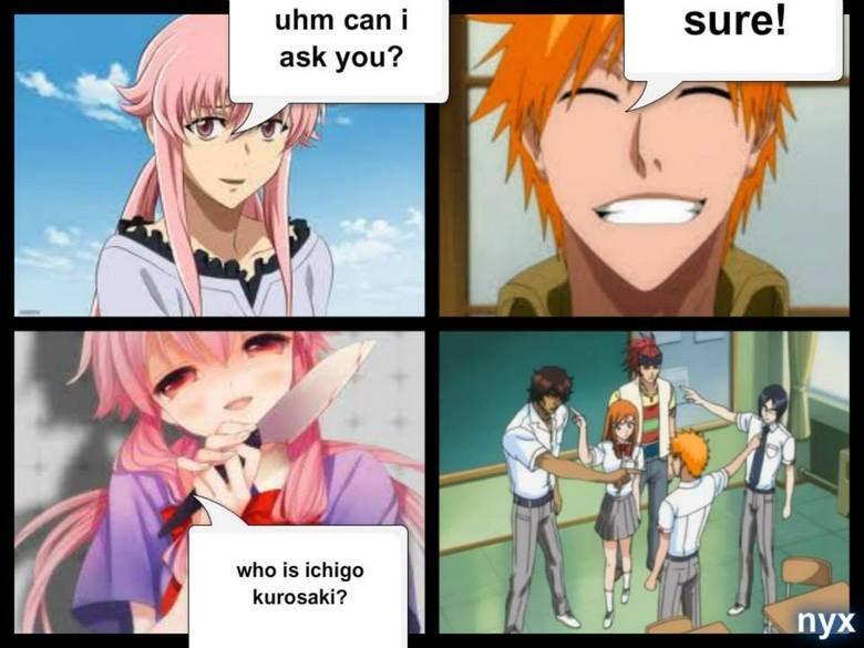 who is ichigo?. . who is kurosaki?. No I'm Sparticus! meme Anime cool