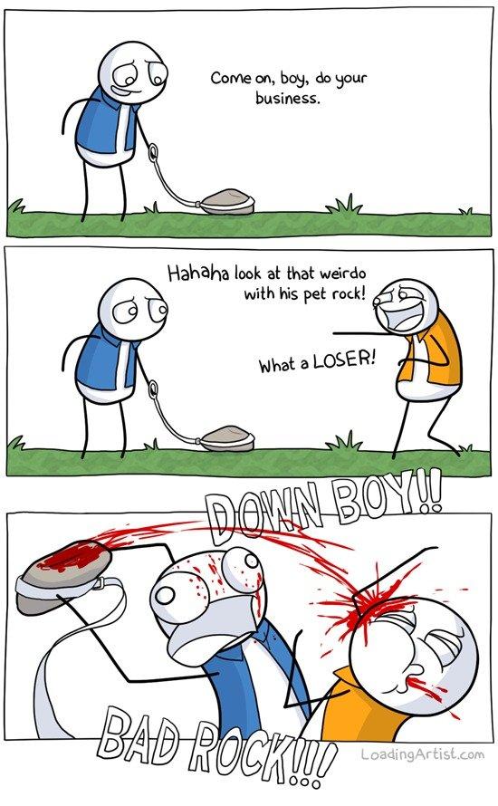 Why I want a pet rock. Dem tags.. Dat Repost dat description
