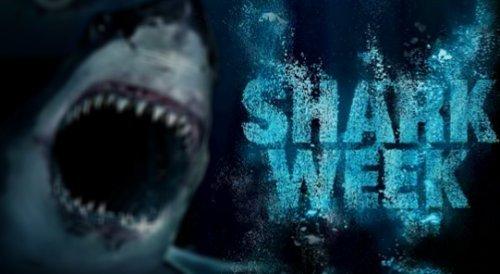 Why Only A Week. starts 2mor. get pumped... a shark chanel would be cool motha fuckin Shark week