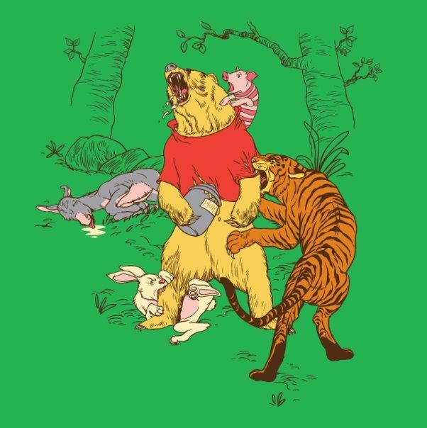 Winnie the pooh: Reality version. . Winnie the pooh: Reality version