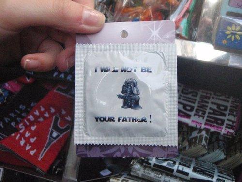 Witty Condom. . Cum at me bro