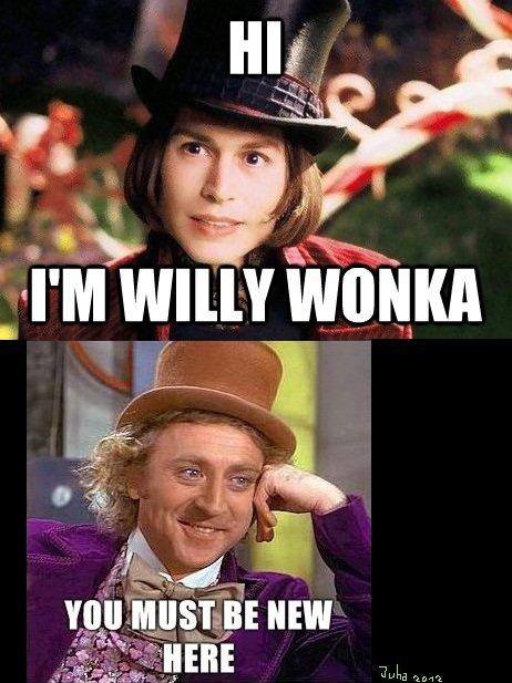 Wonka. . sed f J in Willy wonka