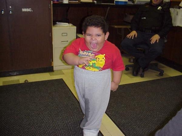 WTF fat boy. plz comment.. Repost off new picture WTF Fat boy piss pants cop