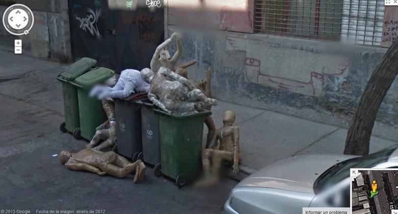 Wut?. . interesting Google street view