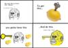Lemon key face