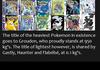 Pokemon Facts #1