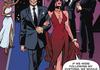 Deadpool marrying a vampire.