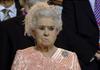 Queen McKayla Maroney is not impressed.
