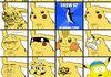 Pikachu's face
