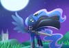 Luna background.